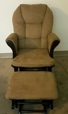 Glider and Ottoman - great condition