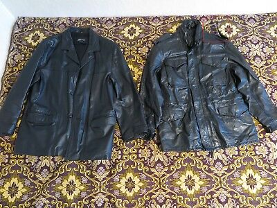 clothes - massive joblot, 32 peaces, real leather jackets, cotton and so on
