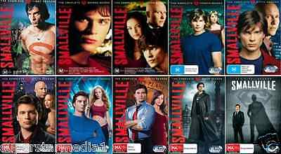 SMALLVILLE Series COMPLETE COLLECTION  Season 1-10 : NEW DVD