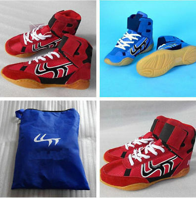 6334 New Men Boxing Wrestling Sanda shoes sports trainers unisex Fitness Boots