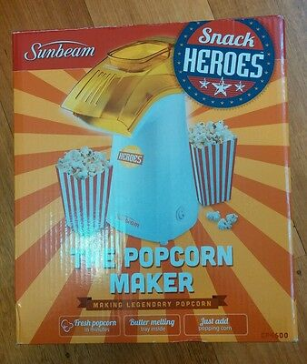 Sunbeam Snack Heros Popcorn Maker
