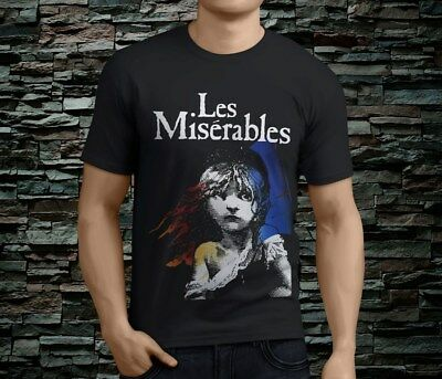 LES MISERABLES Broadway Musical Show Sublimation Sport Mesh tee T-Shirt S-5XL