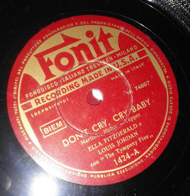 Fitzgerald Ella - Someone Like You - Don't Cry Cry Baby - Fonit 1424