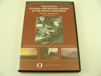 Exploring The Cultural & Natural History Of Pacific Northwest DVD Don L Hunter
