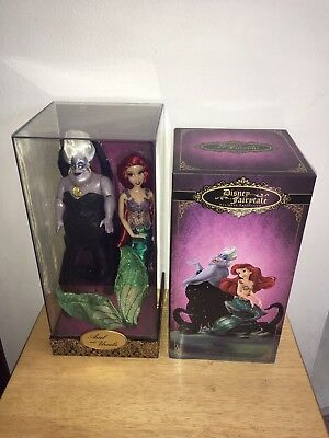 Disney Limited Edition Ariel And Ursula Designer Doll