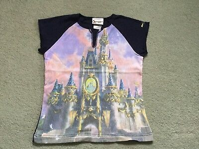 Ladies/Girls - WDW Cinderella Castle T Shirt