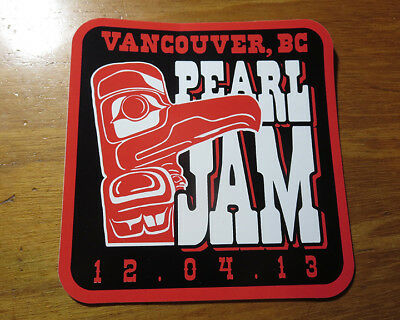 Vancouver Lightning Bolt *Tour Sticker* 04 December 2013 Rogers Arena