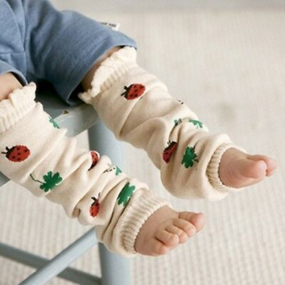 Baby Infant Toddler Girl Boy LADYBUG Leg Warmers, brand new VERY soft