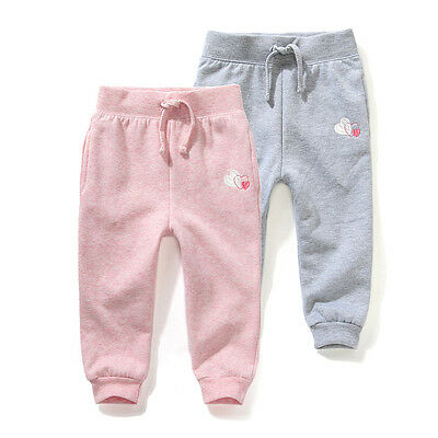 NEW Baby Girl Boy Everyday Trackie Pants size 9-12-18-24-36 mos ** pink grey