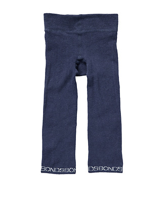 NEW Bonds Baby Boy Girl Classic Cotton Sock Legging, Navy Blue, 0-6m 1-2-3 years