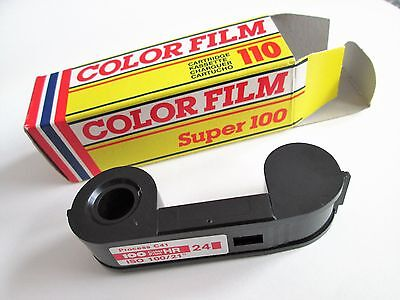 pack of 3 Vintage 110 colour camera film for Lomography