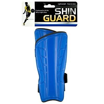 Bulk Buys Lightweight Contoured Shin Guards - Pack of 12. Best Price