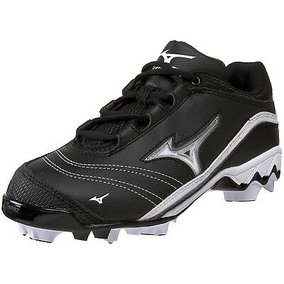 (5 B(M) US, Black/White) - Mizuno Women's 9-Spike Watley G3 Switch Softball