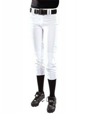(XX-Large, White) - Women's Low Rise Polyester Pant. Teamwork. Free Delivery