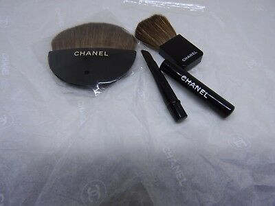 Gift VIP- Chanel-makeup accessories-3 natural brush- 100%