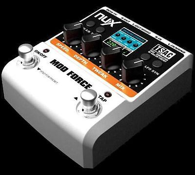 NuX MOD FORCE Multi Modulation Effects Pedal - Aussie Seller!