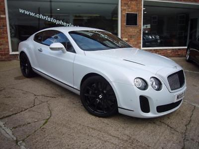 Bentley Continental Supersports 2010 10 Pearl White 31100 miles