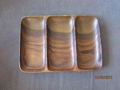 Vintage Retro Wooden Serving Tray