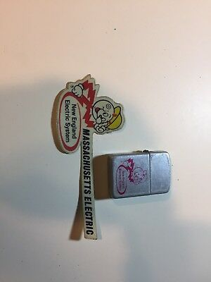 Vintage Reddy Kilowatt Lighter And Decal