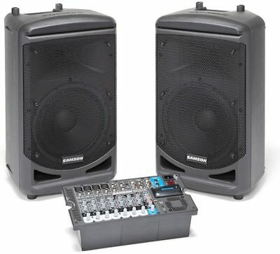 CLEARANCE Samson Expedition XP1000 Portable Bluetooth PA AMP & Speakers System
