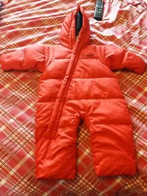 Red 12 month Columbia snowsuit