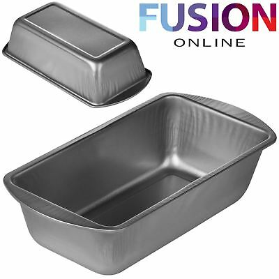 Non Stick Bread Loaf Tin Hardened Steel Baking Pan Deep Cake Tray Meat Bakeware