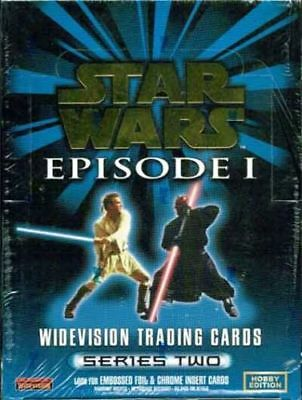 Star Wars Episode 1 - EMPTY CARD BOX - NO PACKS - SHIPPED FLAT