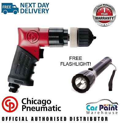 """Chicago Pneumatic CP9792 3/8"""" Pistol Grip Air Drill - FREE UK NEXT DAY DELIVERY"""