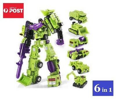 Transformers Constructicons / Devastator Toy Set 6 In 1