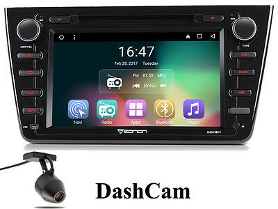 "8""HD-Autoradio 2GB Quad-Core ANDROID 7.1 Mazda 6 2008-12 Wifi USB EONON Navi DAB"