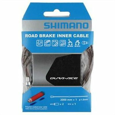 Cable Shimano Road Polymer 1 6x2000 mm.