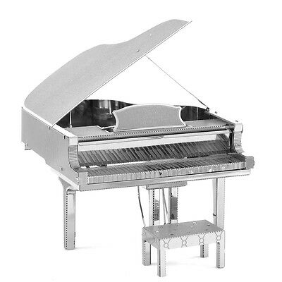 3D Piano Musical Instruments Metal Craft Puzzles Assembling DIY Jigsaw Toy Model