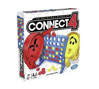 Connect 4 Classic Grid 4 In A Row Board Game by Hasbro (A5640)