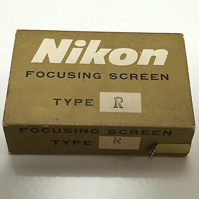 Nikon F & F2  Focusing Screen Type R - Clean Condition
