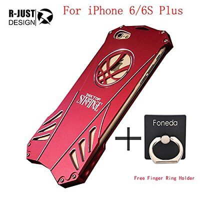 Phone Case For Apple iPhone 6 6S Plus Doctor Strange Heavy Dust Metal Armor Ano