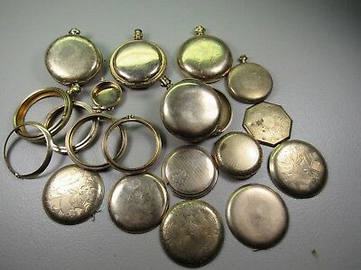C-8: 347 grams of mixed gold filled watch cases, many with wear through