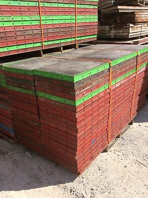 Symons Concrete Wall Forms Steel Ply Panels (40pcs) 8 ft x 2 ft
