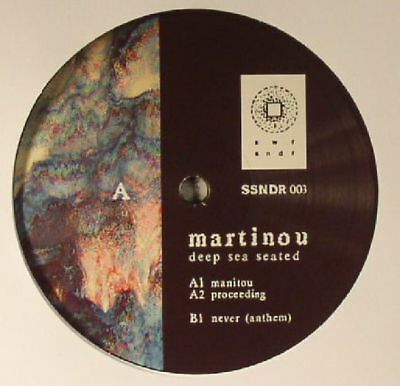 MARTINOU - Deep Sea Seated/Concrete Solid - Vinyl (2xLP)