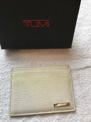 Tumi Slim Card Case toscano