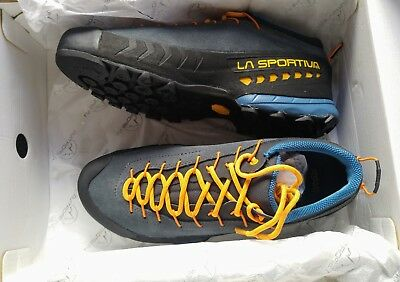 La Sportiva TX4 Approach Shoes Men's Blue/Papaya - EU 43 - UK 9 - NEW