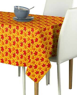 Autumn Leaves Fabric Tablecloths - Assorted Sizes Available
