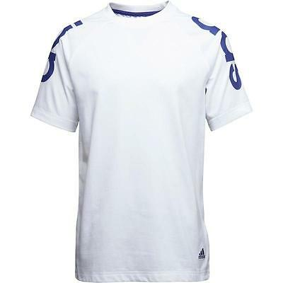 Adidas T-Shirt Yb Rd - White/blue - M35216