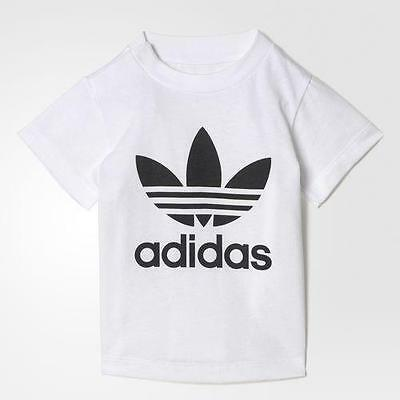 Adidas T/shirt Infant - White Black - Bj8515