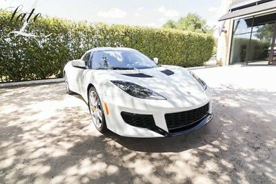 2017 Lotus Evora  White Metallic with Tan Leather Trim
