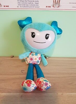 Peluche Brightling  Interactive Bleue