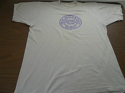 Paul McCartney -Band On The Run -T shirt promotional Rare Vintage - New