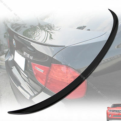 ROUNED BMW E90 3 Series Saloon Rear Boot Lip Spoiler Wing Sport Lid M3 UK Seller