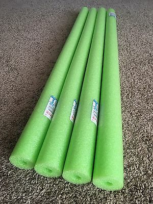 Lot 4x Green Noodle Swimming Pool Noodle therapy water floating foam craft