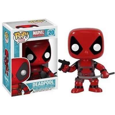 Details about  New Bobble Head Funko Pop Marvel Deadpool Vinyl Action Figure Toy