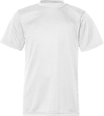(Small, White) - C2 Sport 5200 - Youth Short Sleeve Performance T-Shirt